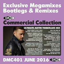 DMC Commercial Collection 401 Club Hits Mixes & Two Trackers DJ Double Music CD