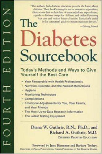 The Diabetes Sourcebook : Diana & Richard Guthrie, 1999, PB, fair shape