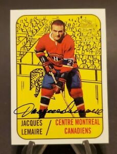 2001-02-Topps-OPC-Archives-Autographs-Jacques-Lemaire-Full-Auto