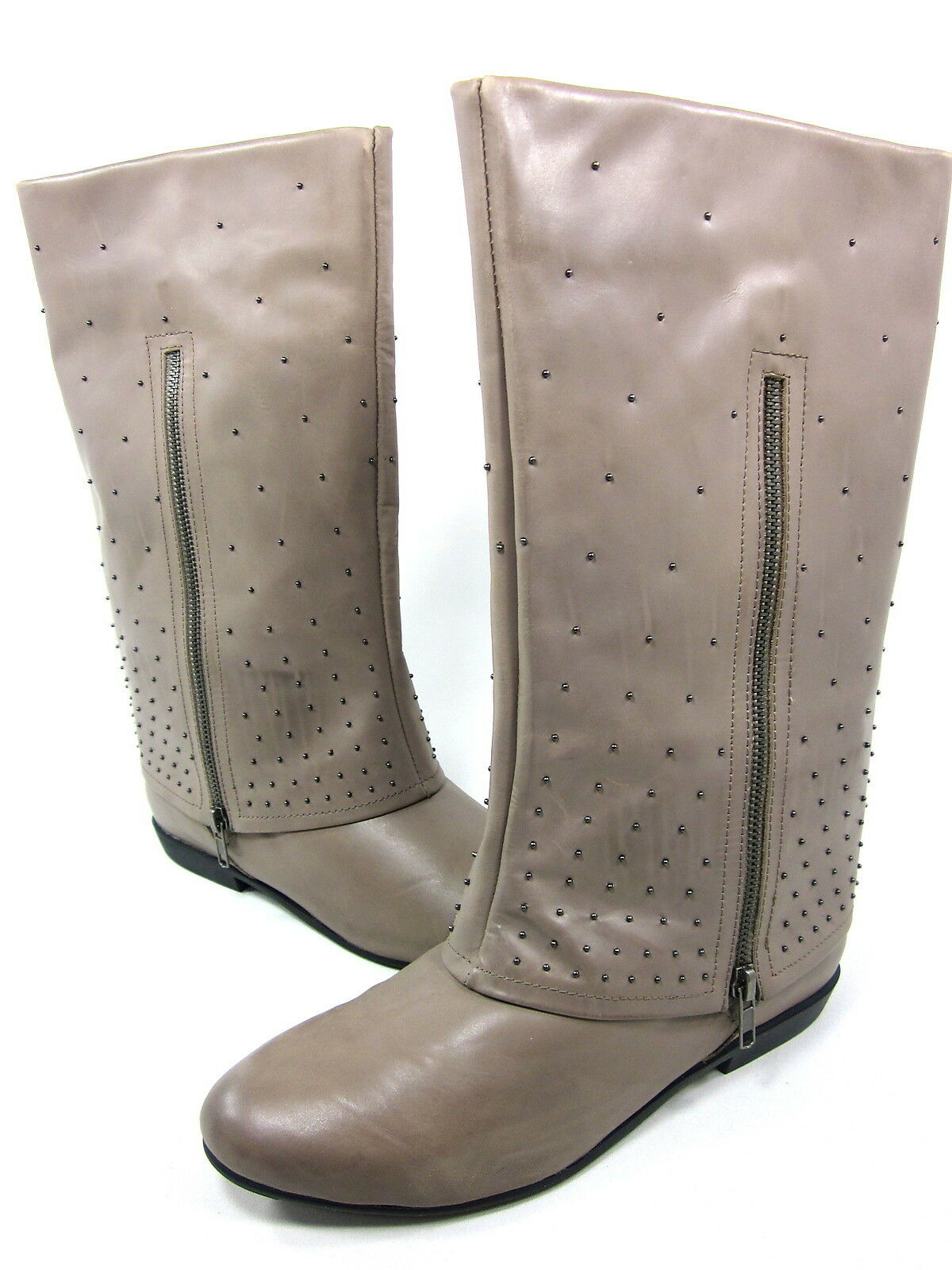 MESSECA, LINDA CUFFED BOOT, Donna, M HROOM LEATHER,   8.5M, NEW WITHOUT BOX