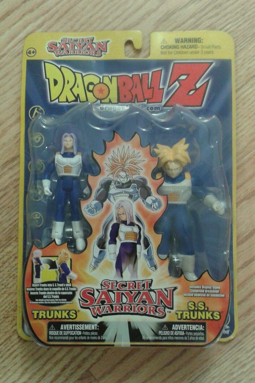 Dragon Ball Z Action Figures-Secret Saiyan Warrior Trunks Transforms to SS Trunk