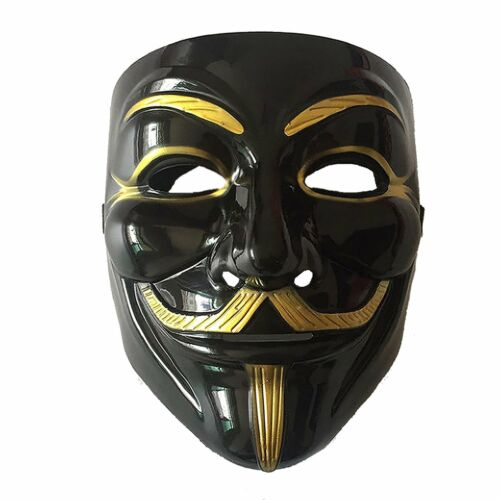 V for Vendetta Mask Anonymous Guy Fawkes Fancy Dress Fancy Costume Cosplay NEW