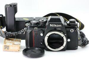 Nikon F3 Spiegelreflexkamera + Motor Drive MD-4