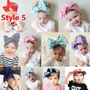 Various-Baby-Girls-Toddler-Newborn-Big-Headband-Headwear-Hair-Bow-Accessories