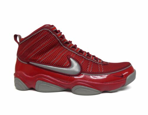 Nike Men/'s ZOOM DON LE HOH Shoes Varsity Red//Metallic Silver 416367-606 a4