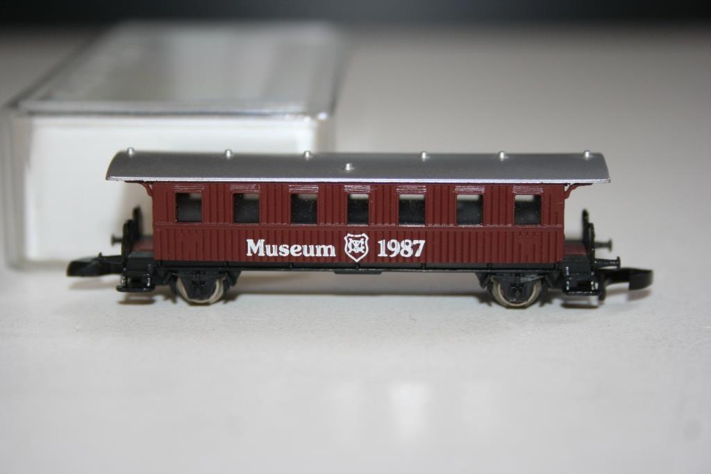 Traccia Z Mini-Club: Museo auto 1987, VP