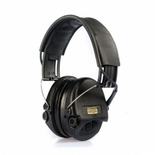 Sordin Supreme 75302-X//L-02-G Pro X Noir Bonnets gel Earpads Cuir Bandeau