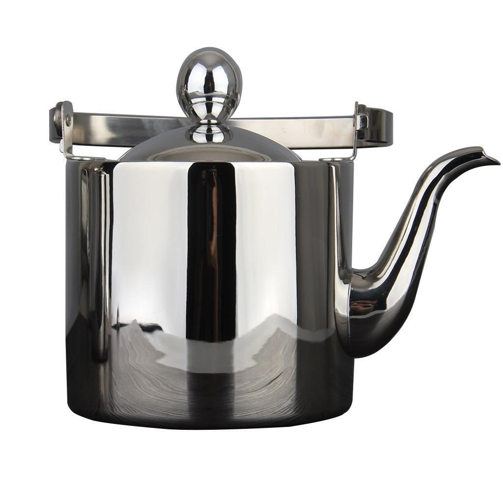 Baoblaze acier inoxydable Drip Kettle Pour Coffee Tea Boiling Feature 2.5L