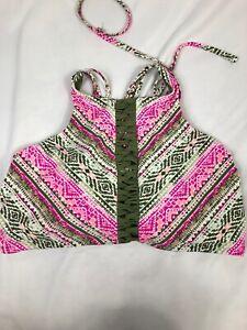 e6fbaf7871c53 644- Time & Tru Women's Bikini Top XL/XG (16-18) | eBay