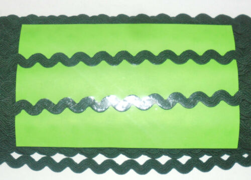 Art /& Craft Bordado 5mtrs o 50mtrs-Varios Colores RIC Rac Trenza Trim 5mm