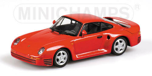 Porsche 959 1987 red 400062521 1 43 Minichamps