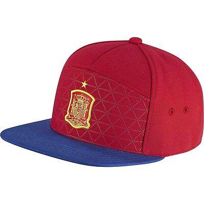 Adidas Spanien Legacy Snapback Cap Basecap Kappe Fussball Rot/gelb/blau Ao2822
