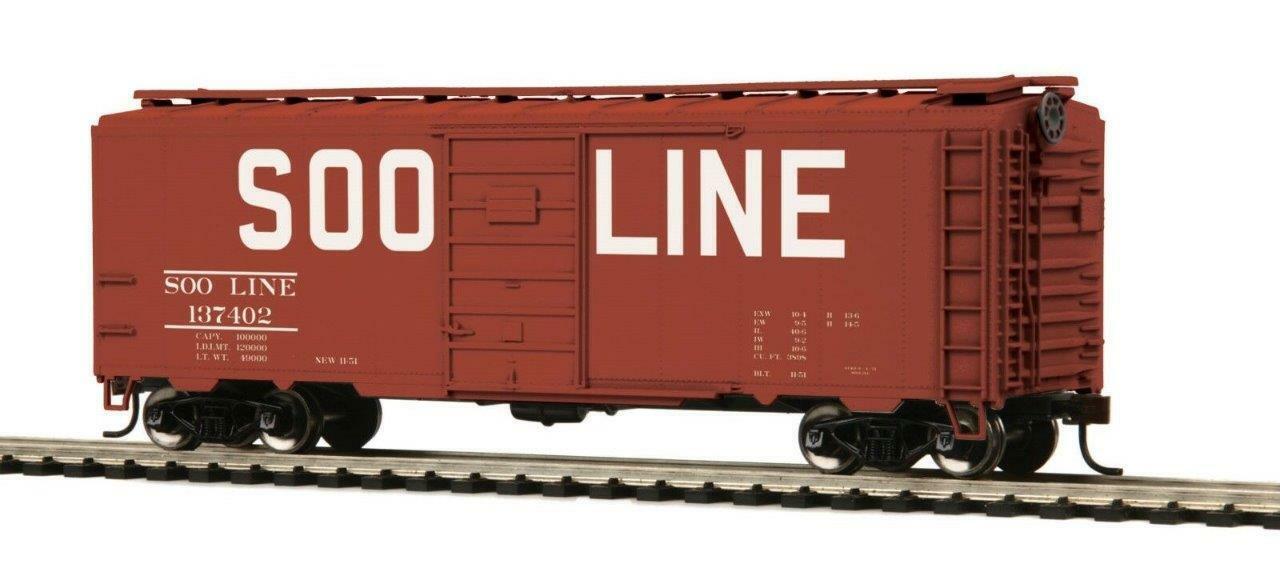 MTH HO Scale Soo Line 40/' PS-1 Box Car #137409