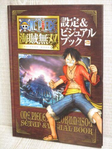 ONE PIECE Kaizoku Musou Visual Art Illustration Book Ltd