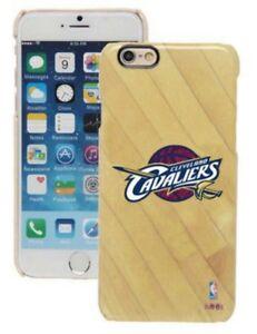 wholesale dealer 77b7c b3de5 Details about Official CLEVELAND CAVALIERS iPhone 6 / 6S Hard Case Cover  Basketball NBA Wood