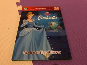 LeapFrog-Tag-Pen-LeapReader-book-Disney-s-CINDERELLA-THE-HEART-THAT-BELIEVES