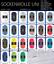 Pro-Lana-Sockenwolle-uni-100-g-4-faedig-alle-Farben Indexbild 1