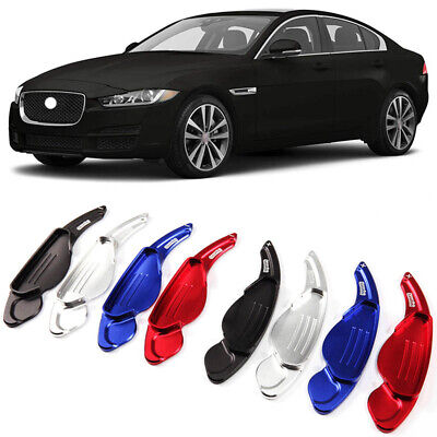 Alloy Add-On Steering Wheel DSG Paddle Shifters Extension For Jaguar XF 11-18