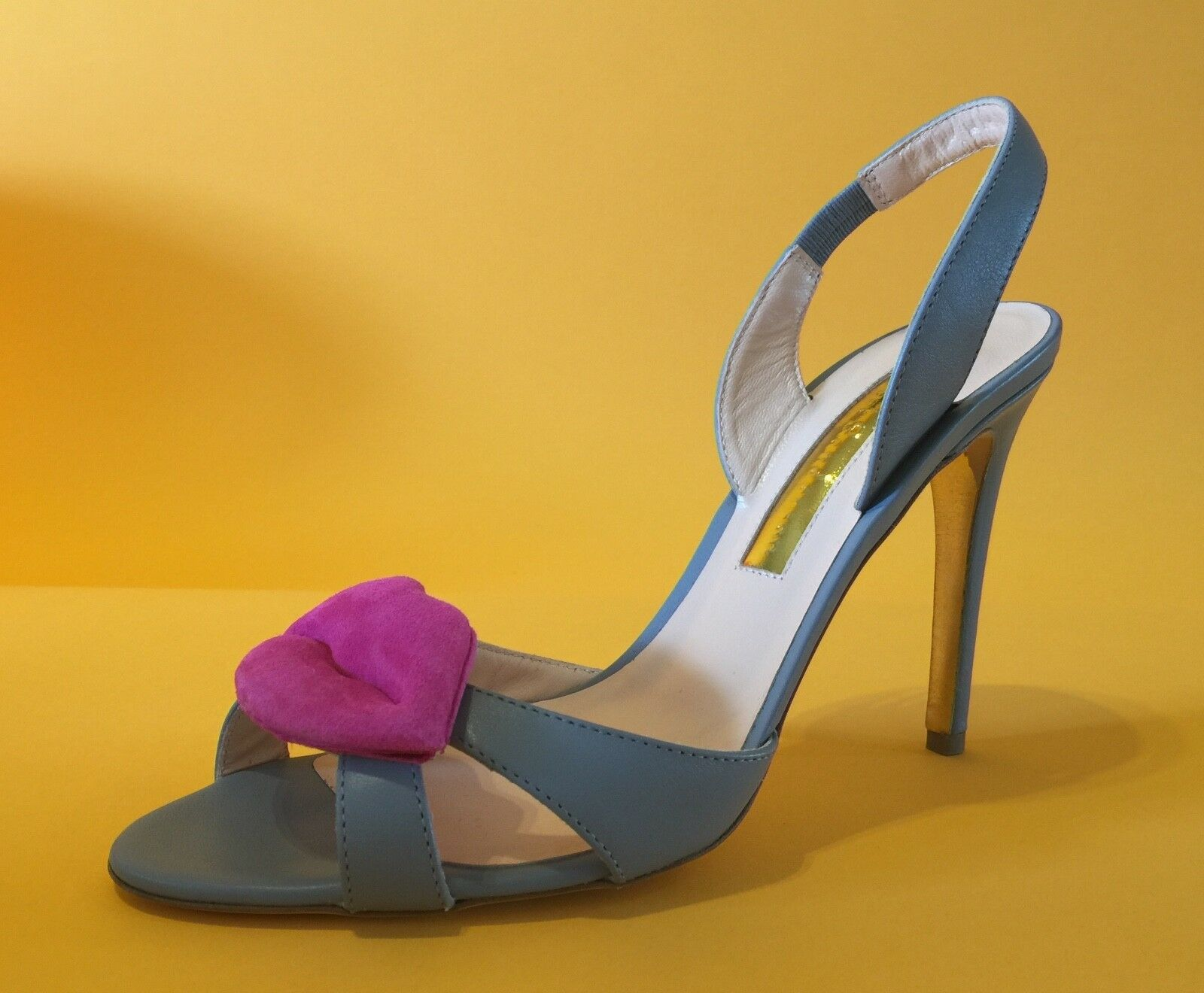 Warehouse Clearance Rupert Sanderson    Graphite Grey  Sandals UK5 EU38