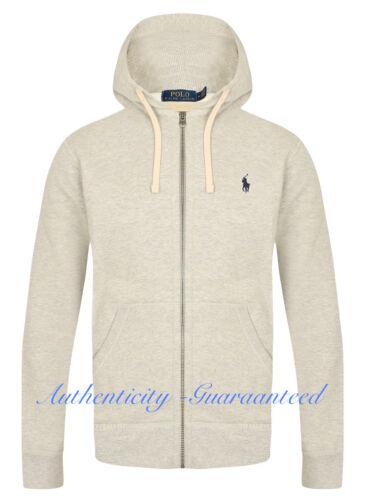 Rrp Fleece S Sale Lauren Grey Light Polo Ralph Hoody Xxl £110 fFg8HBRg