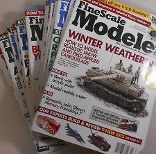 Fine Scale Modeler Magazine Lot 2008/2009/2011/2012 18 magazines one low price!