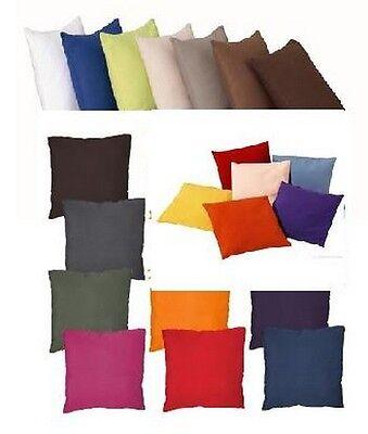 HOUSSE DE COUSSIN 40x40cm 4 Coloris au choix