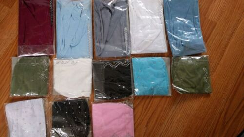 JOB LOT 50 X Bonnet Skull Cap Bandana for Hijab Scarf Various colours designs