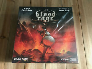 Blood Rage - Boîte Basique Jeu De Table Edge Cmon Thème