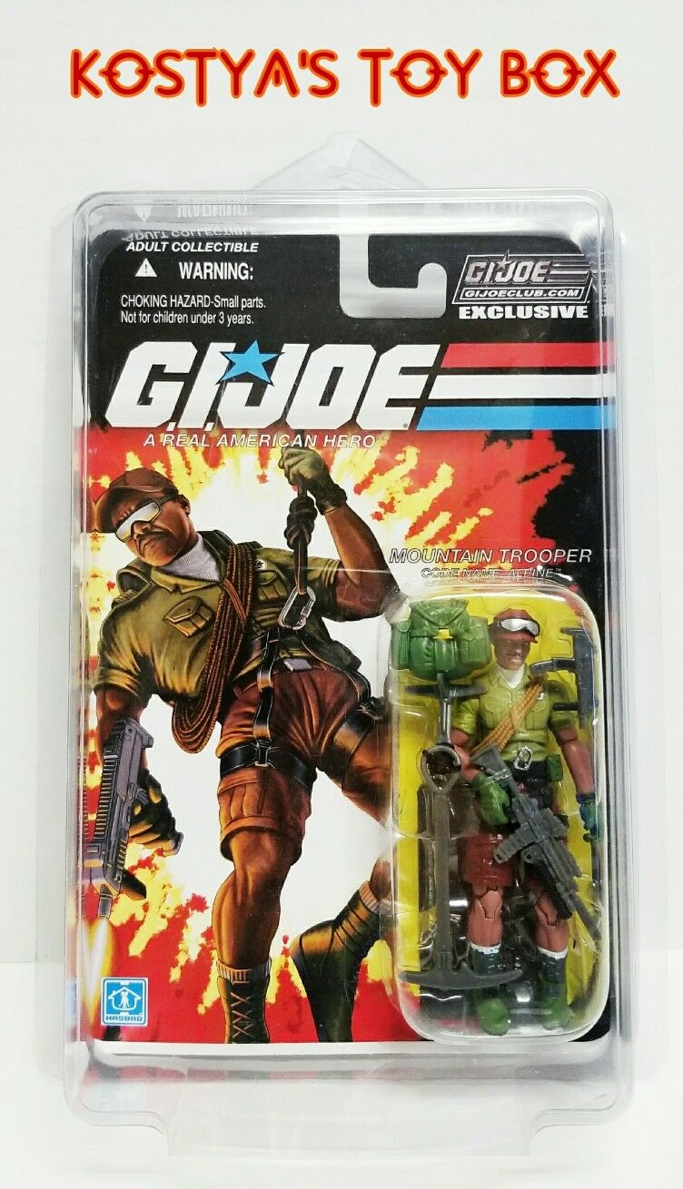GI Joe ALPINE 2015 MOC FSS Hasbro Collectors Club 3.0 25TH 30TH Action Figure