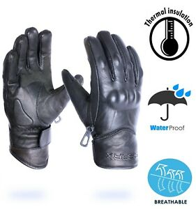 Waxer-Leather-Motorbike-Gloves-Waterproof-Thermal-Motorcycle-Protection