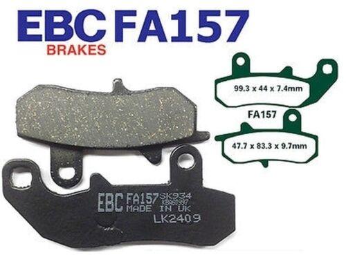 EBC Blackstuff Standard Bremsbeläge FA157 hinten Suzuki DR 650 R 1991-1995