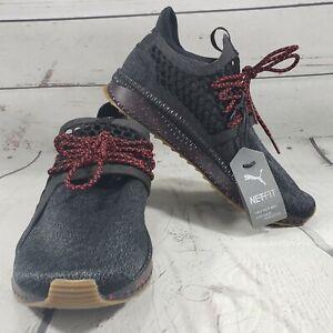 Puma-Shoes-Size-7-C-Puma-Tsugi-Netfit-V2-Tone-Junior-Black-New-Without-Box-NWOB