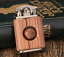 Rosewood handmade custom windproof kerosene to bead lighter(Worldwide FREE SHIPP