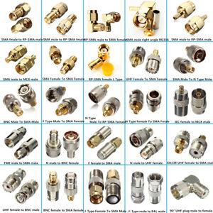 SMA-Series-RF-Coaxial-Male-Femelle-RP-Male-RP-Femelle-Plug-Adaptateur-Connecteur