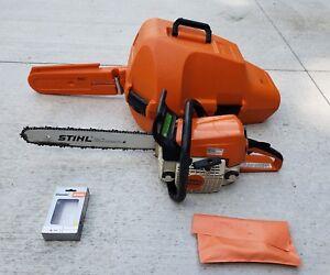 Stihl ms 250 chainsaw 18bar wcasetool kit new chain ebay image is loading stihl ms 250 chainsaw 18 034 bar w greentooth Gallery