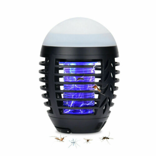 2-in-1 Camping Lantern Bug Zapper Rechargeable Tent Light Mosquito Killer IPX6