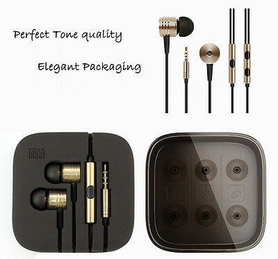 Heavy bass Universal 3.5mm In-Ear Earbud Earphone with Mic For Smartphone PC