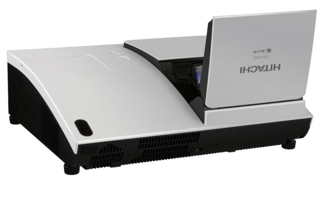 HITACHI  CP-A100 XGA ULTRA SHORT THROW PROJECTOR (1024 x 768) 2500 Lumens