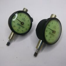 Federal 001 Dial Indicators Gage B81 Miracle Movement Set Of Two