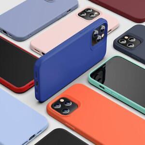 ESR Case for iPhone 12 Pro Max Mini, Liquid Silicone Luxury Silky Smooth Cover