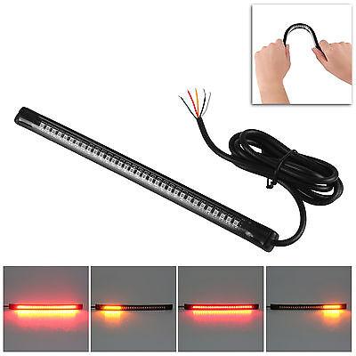 Universal Flexible 32 LED Motorcycle ATV Tail Brake Stop Turn Signal Strip Light