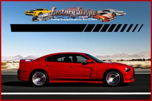 2015 Factory Stripe Dodge Charger 3m Automotive Strobe Rocker Decal  2011