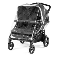 Peg Perego Book For Two Rain Cover - Brand Free Shipping