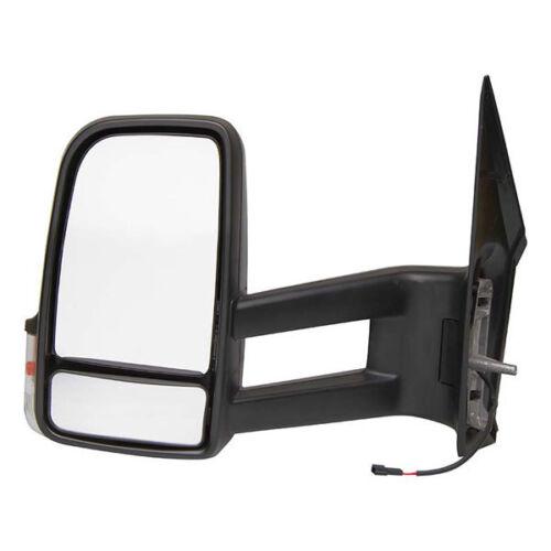 Mercedes Benz Sprinter-Remplacement Côté Passager Aile Miroir Manuel Noir