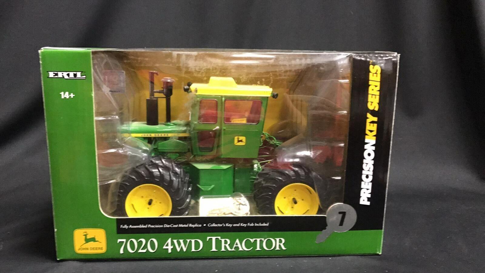 John Deere 7020 serie clave de precisión  7 Tractor de 4 ruedas motrices