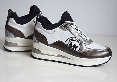 Michael Kors señora sneakers lula entrenador canvas tamaño 36 optic White 49 f 9 lufp 5d | eBay