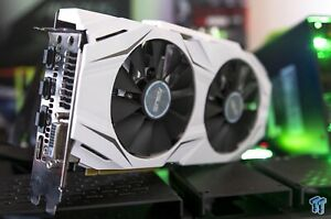 Details about ASUS NVIDIA Dual-Fan GeForce GTX 1060 OC 6GB GDDR5 DVI/2  HDMI/2 Displayport