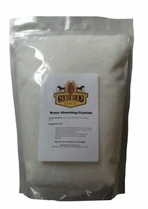 Soil Moist Water Absorbing Polymer Crystals - 55 Lbs
