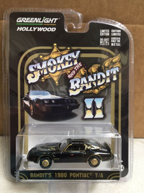 e2a785ce Greenlight 1/64 Smokey & The Bandit II 1980 Pontiac Trans Am HOLLYWOOD  44710-