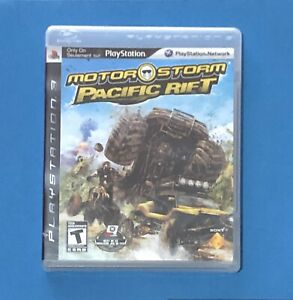 MOTORSTORM-PACIFIC-RIFT-PS3-PLAYSTATION-3-MANUAL-COMPLETE-FREE-SHIPPING